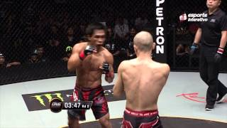 Download Kevin Belingol derrota Koetsu Okazaki no One FC 23 Mp3 and Videos