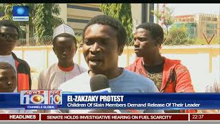 El-Zakzaky Protest: Children Of Slain Members Demand Release Of Their Leader