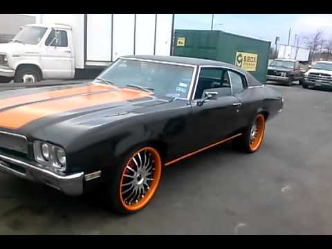 Muscle Car Dallas 72 Skylark 22s Staggered Offset Youtube