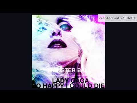 Lady Gaga - Intro | So Happy I Could Die (Re-Vamped) [Info In Description]
