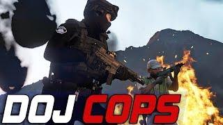 Dept. of Justice Cops #729 - SRU Suiting Up