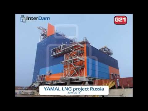 Yamal LNG Project Russia - Construction of prefabricated modules