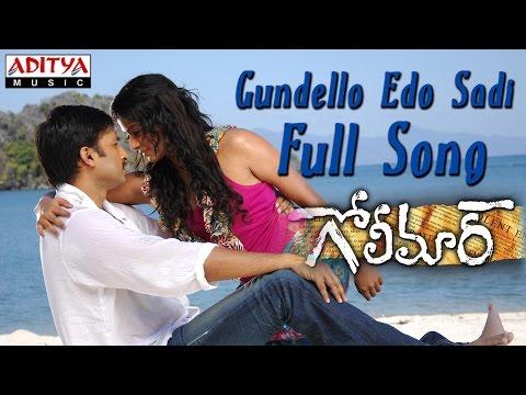 Gundello Edo Sadi Full Song ll Golimaar Movie ll Gopichand, Priyamani
