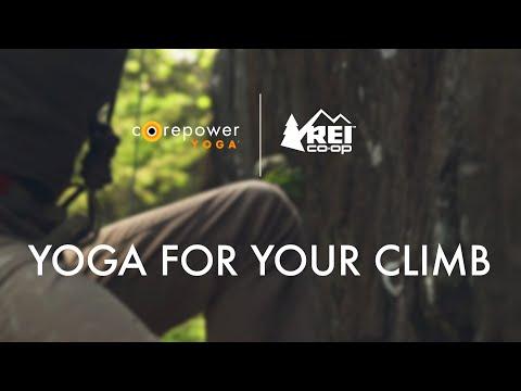 CorePower Yoga x REI: Yoga for Your Climb