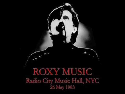 Roxy Music - Audio - FM NYC  1983