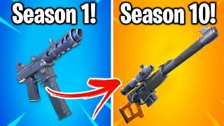 THE WORST WEAPON FROM EVERY SEASON OF FORTNITE!