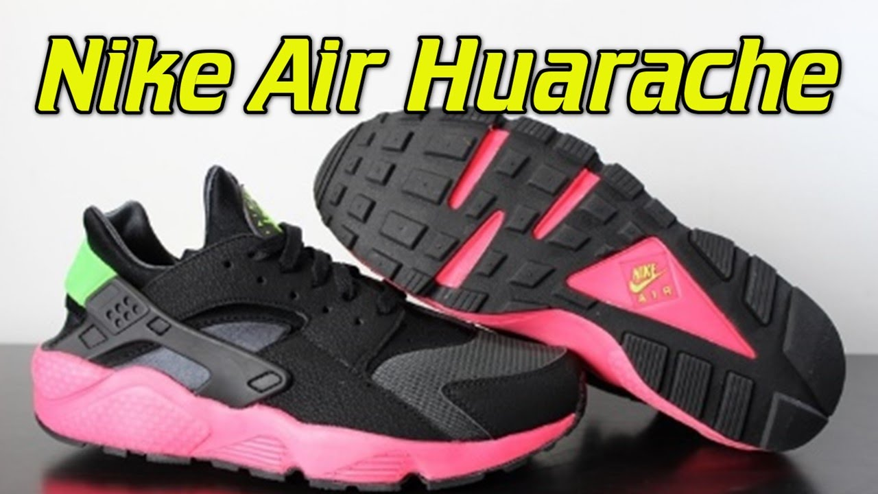 d688cebe45db Nike Air Huarache Hyper Punch - Review + On Feet - YouTube