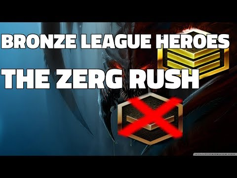 BRONZE LEAGUE HEROES #53 - THE ZERG RUSH - Barcode v Sirgw