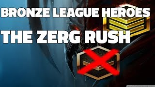 BRONZE LEAGUE HEROES #53 - TΗE ZERG RUSH - Barcode v Sirgw