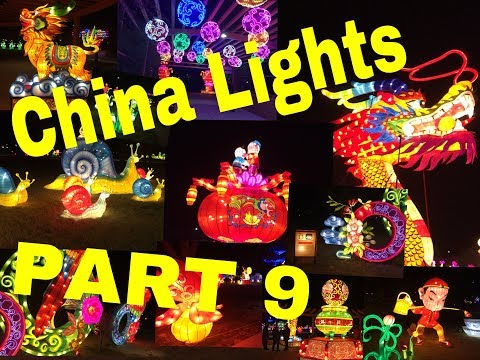 CHINA LIGHTS PART 9, STAGE PERFORMERS PART 3, chinese culture, lantern festival, chinalights