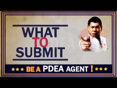 Be a PDEA Agent!