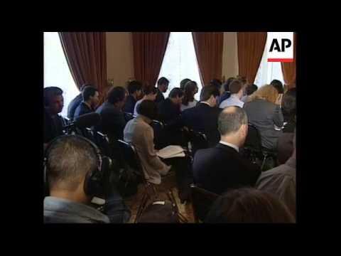 USA: PRE-G7 NEWS CONFERENCE