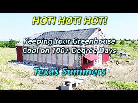 Using Shade Cloth in Texas Heat - Greenhouse - Backyard Aquaponics