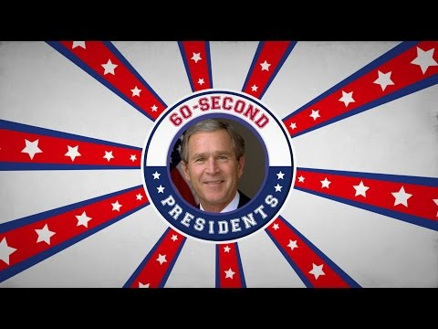 George W. Bush | 60-Second Presidents | PBS