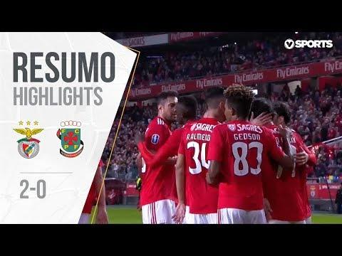 Highlights | Resumo: Benfica 2-0 P. Ferreira (Allianz Cup #2)
