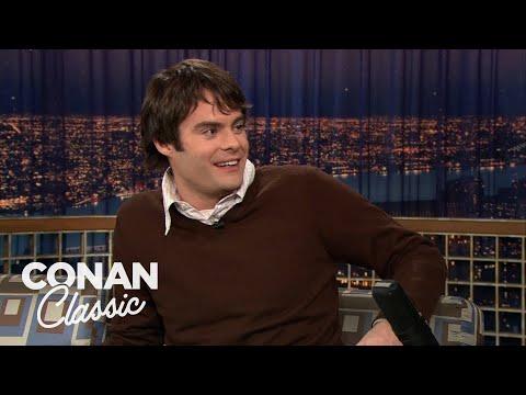 "Bill Hader On ""Late Night With Conan O'Brien"" 12/16/05"