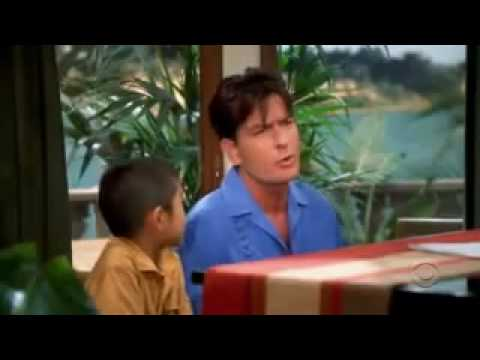 Two and a half men - who cut the cheese