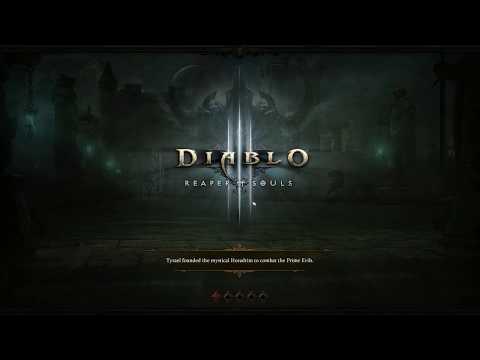 4K UHD Diablo III  Patch 2.6.5 HC S17 GR65 4 Elements Wizard