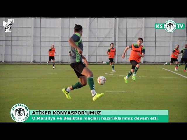 Takımımız O.Marsilya ve Beşiktaş maçlarının hazırlıklarına devam etti
