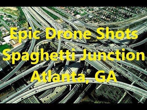 Best Dji Drone >> BEST DRONE SHOTS.....7 Wonders of Georgia #1 Spaghetti Junction Atlanta Drone Footage DJI ...