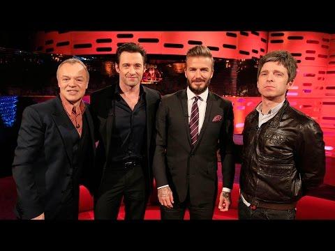 David Beckham the referee - The Graham Norton Show: Series 16 Episode 20 - BBC One