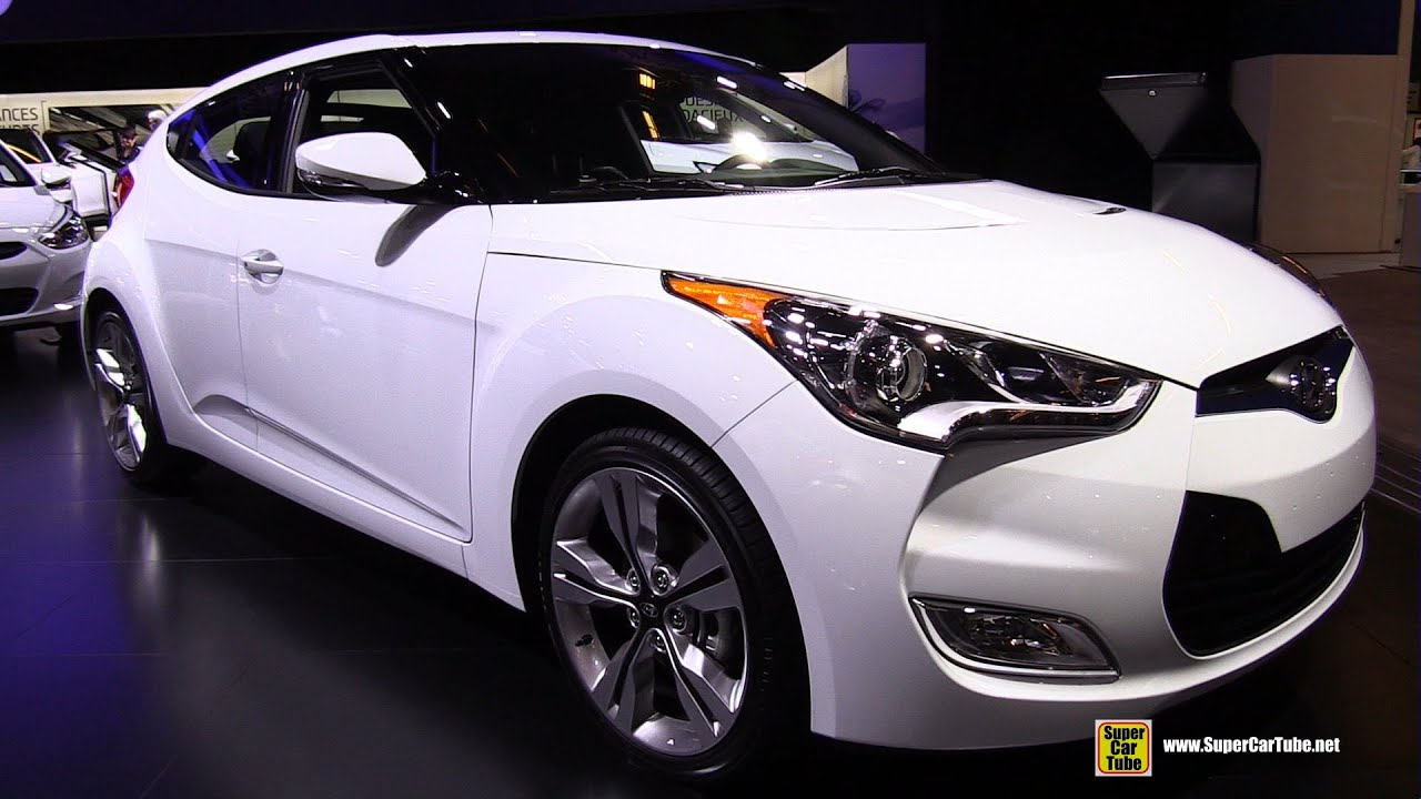 2015 hyundai veloster exterior and interior walkaround. Black Bedroom Furniture Sets. Home Design Ideas