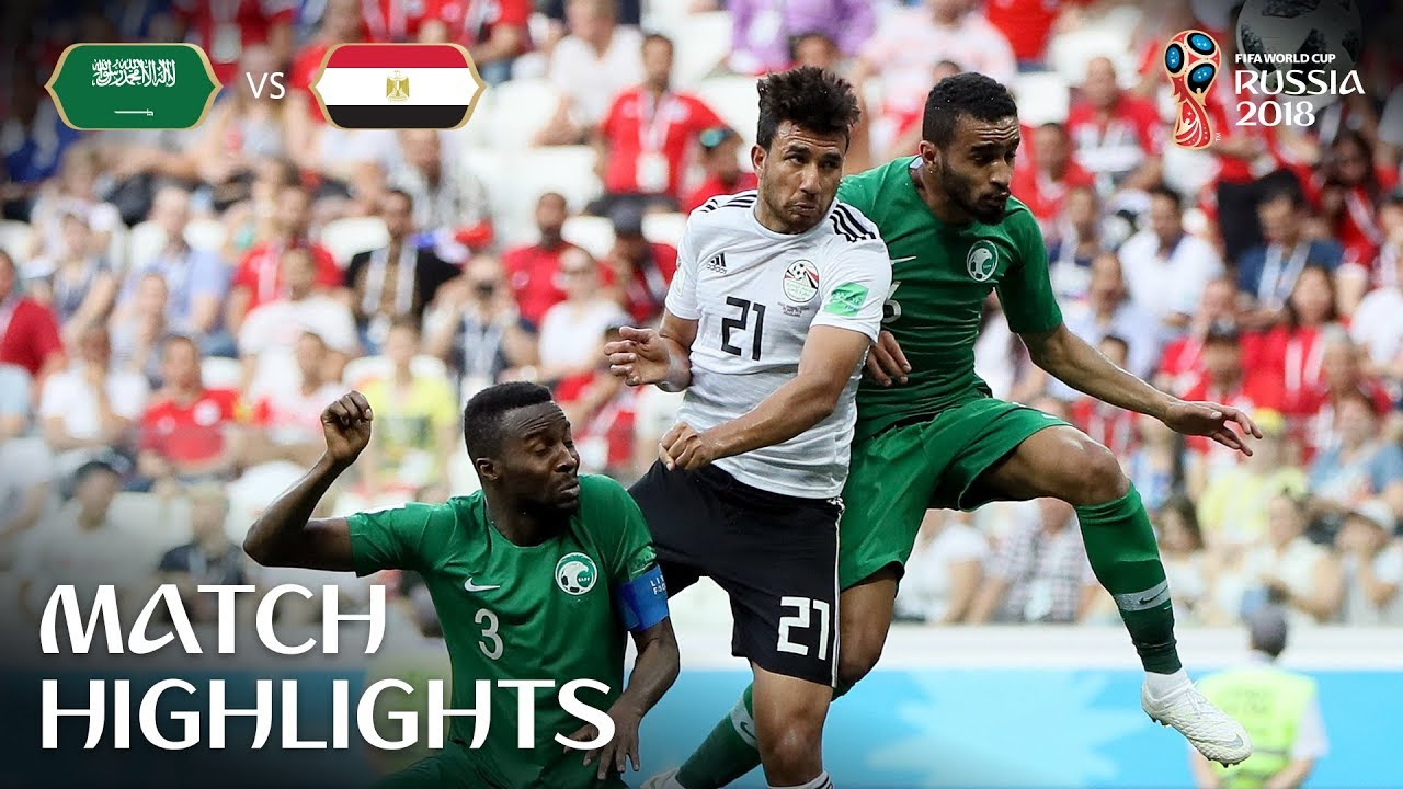 add882cf1 Saudi Arabia v Egypt - 2018 FIFA World Cup Russia™ - Match 34 - YouTube
