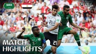 Saudi Arabia v Egypt | 2018 FIFA World Cup | Match Highlights