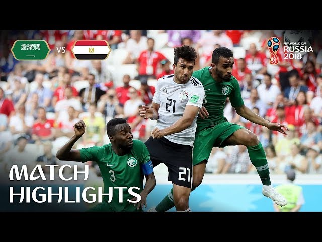 Saudi Arabia v Egypt - 2018 FIFA World Cup Russia™ - Match 34
