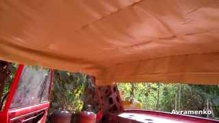 видео ВАЗ 2115 Как снять обшивку потолка!