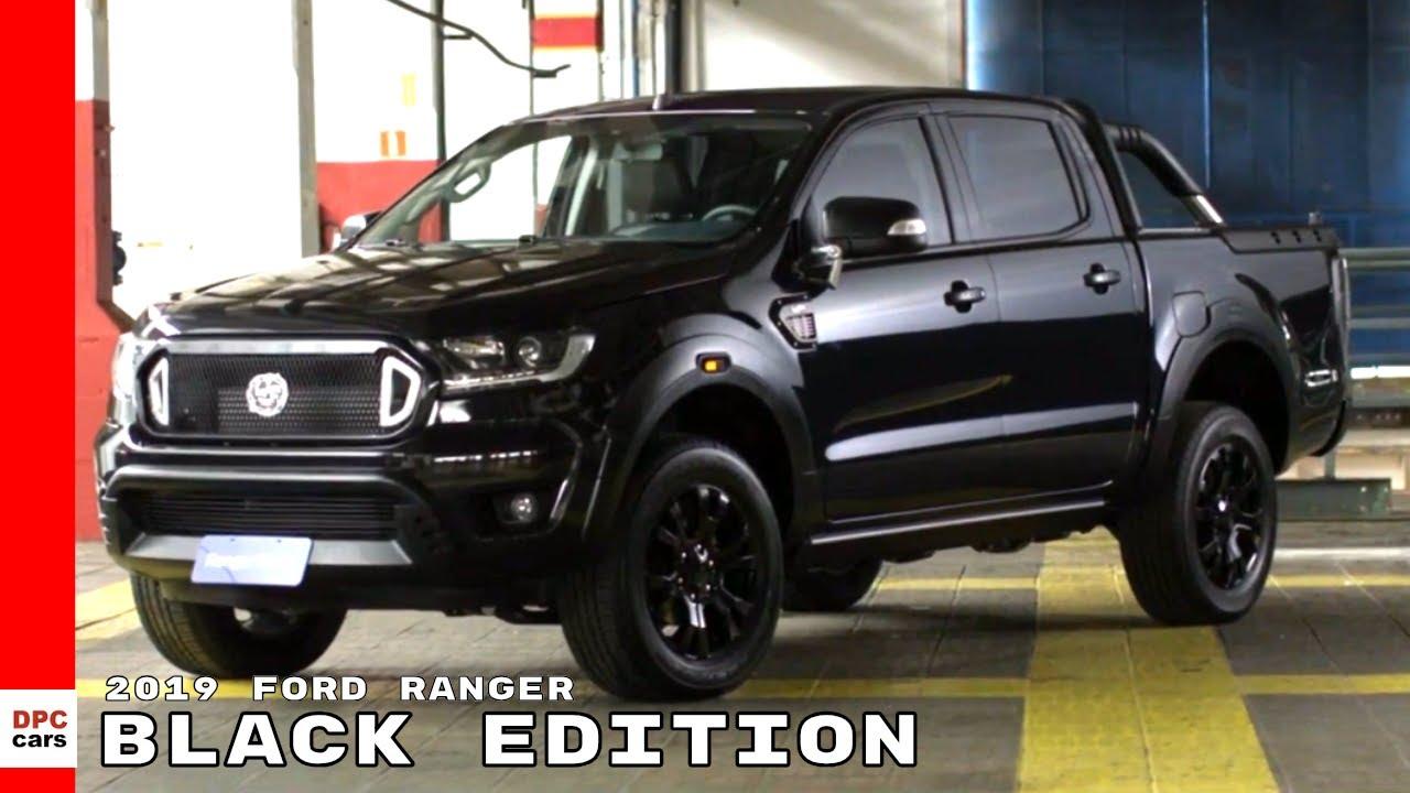 2019 ford ranger black edition truck youtube. Black Bedroom Furniture Sets. Home Design Ideas