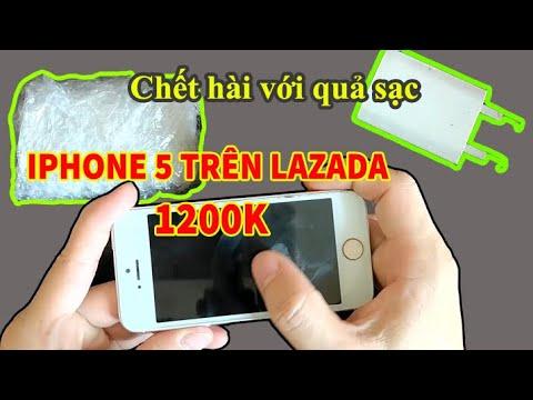 Mở hộp điện thoại Iphone 5 cũ mua trên Lazada, tính năng có còn ngon như máy đời đầu?