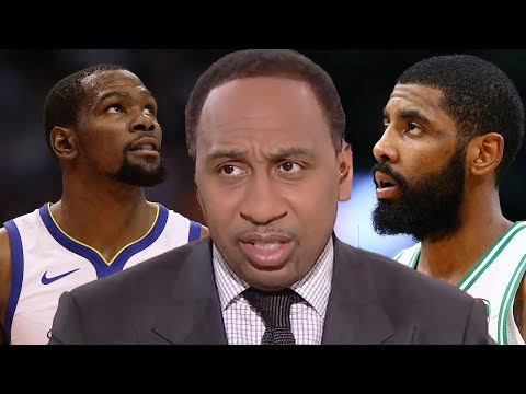 Stephen A Smith CONFIRMS Kyrie Irving Is LEAVING Boston As Kevin Durant Jerseys Selling At 75% Off