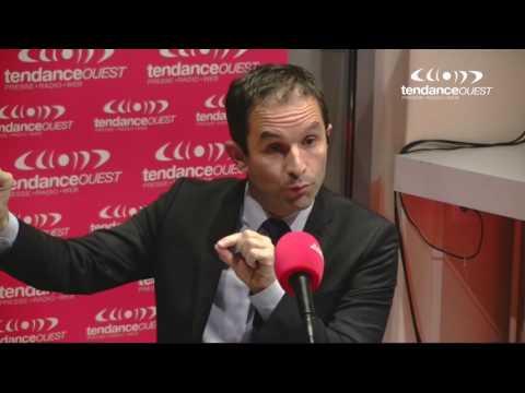 Benoît Hamon en interview sur Tendance Ouest