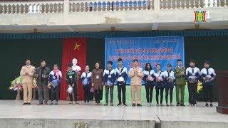 Hà Nam: Tuyên truyền luật giao thông và nghị định quản lý sử dụng pháo từ trường học | Nhật ký 141