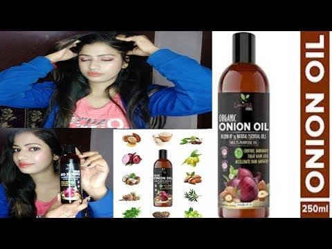 Luxura Science Organic Hair Onion Oil || Best hair oil for Hair loss,,Hair growth,,||