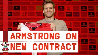 NEW DEAL FOR ARMSTRONG | Midfielder Stuart Armstrong signs new contract to 2024 with Southampton