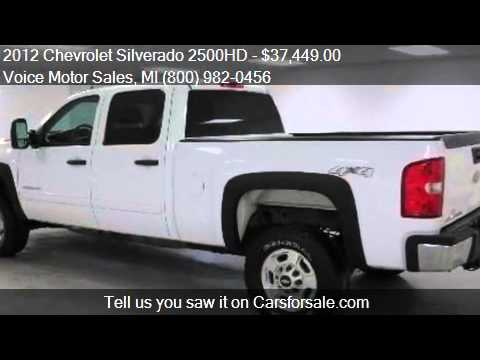 2012 chevrolet silverado 2500hd 1lt 4x4 crew cab standard for Voice motors kalkaska michigan