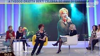 A TV2000 Orietta Berti celebra i 50 anni di carriera