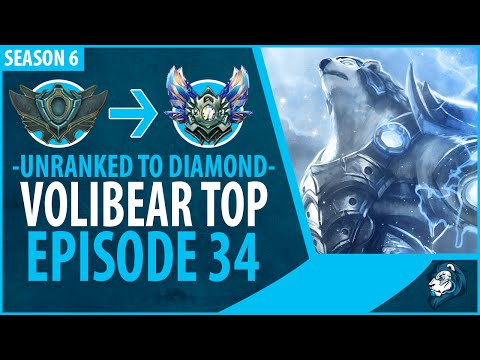Unranked to Diamond - VOLIBEAR TOP - Episode 34
