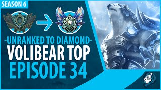 Unranked to Diamond - VOLIBEAR TOP - Episode 34