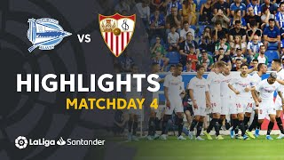 Highlights Deportivo Alaves vs Sevilla FC (0-1)