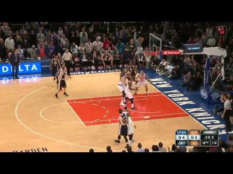 Utah Jazz vs New York Knicks | November 14, 2014 | NBA 2014-15 Season