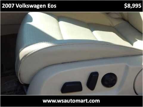 2007 Volkswagen Eos Used Cars St Augustine FL