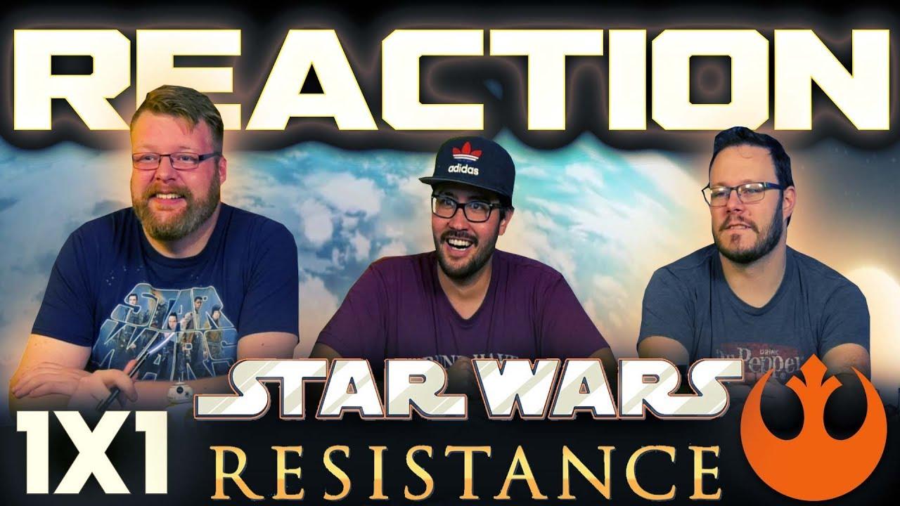Star Wars Resistance 1x1 REACTION!!