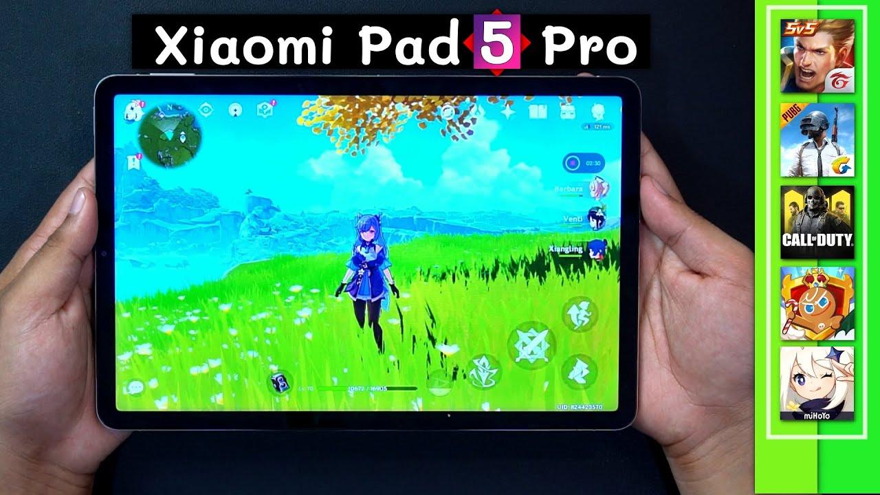 เทสเกม Xiaomi Pad  5 Pro   Snapdragon 870 กับจอใหญ่ และลำโพงอีก 8 ตัว !!
