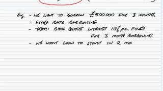 acca p4 explanation of interest rate risk