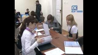 Ярмарка вакансий в ВоГТУ(Найти себе подходящую работу смогли студенты технического университета. Сегодня здесь прошла ярмарка..., 2012-03-21T14:56:59.000Z)