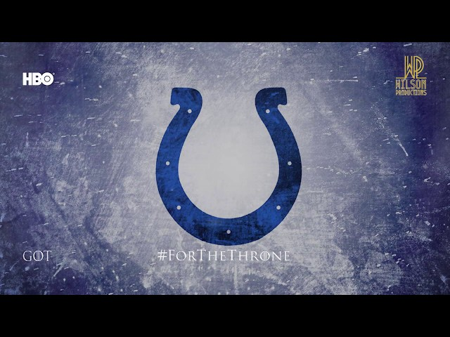 COLTS PROMO 2019 #FortheThrone
