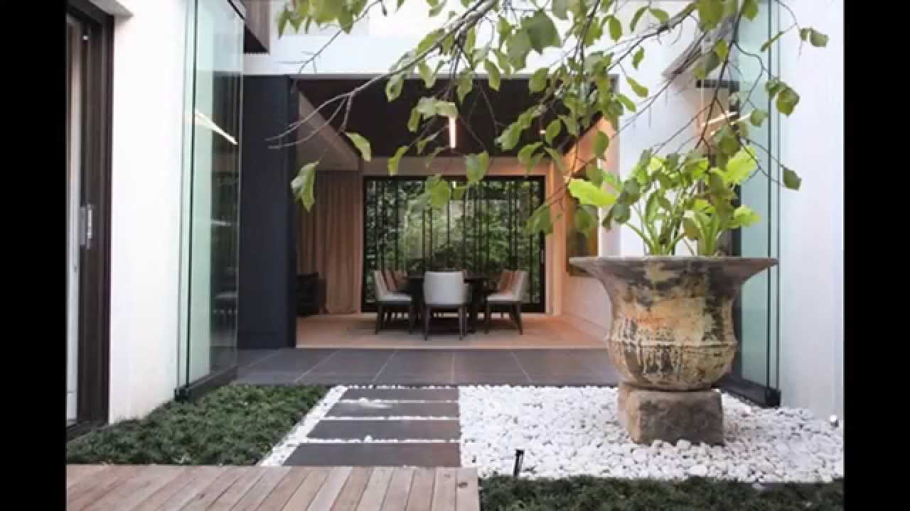 Small indoor garden ideas youtube for Small indoor patio ideas